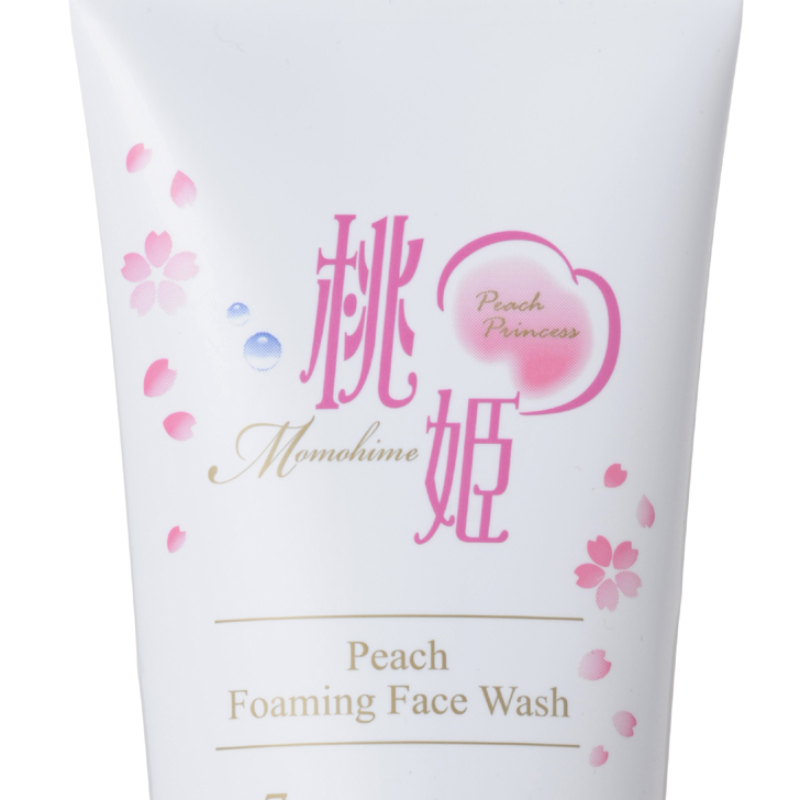 Peach Foaming Face Wash