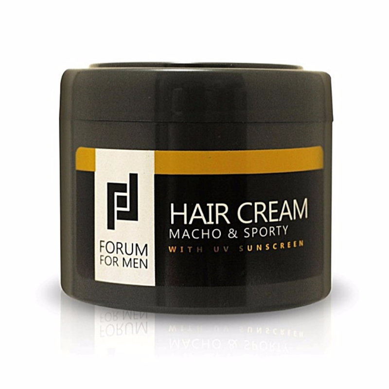 Hair Cream with UV Sunscreen