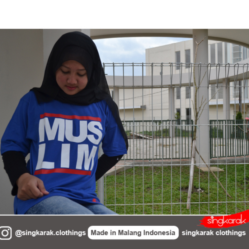 Muslim T Shirt in Blue