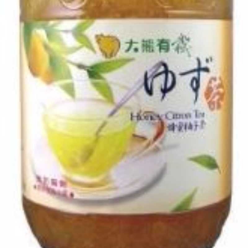 Korean honey citron tea