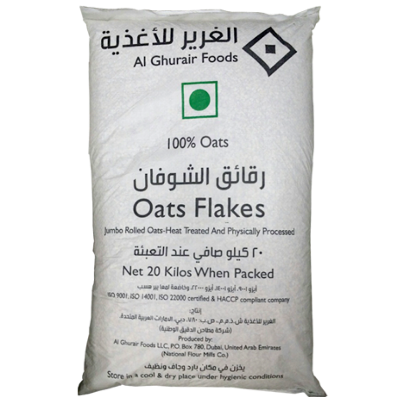 jumbo rolled oats flakes