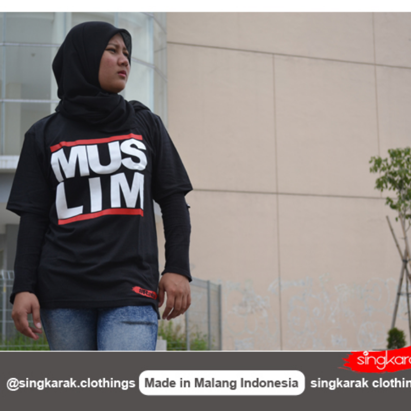 Muslim T Shirt in Black