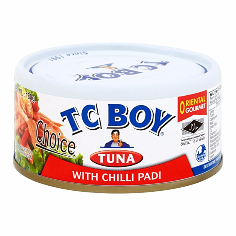 Tuna with Chilli Padi