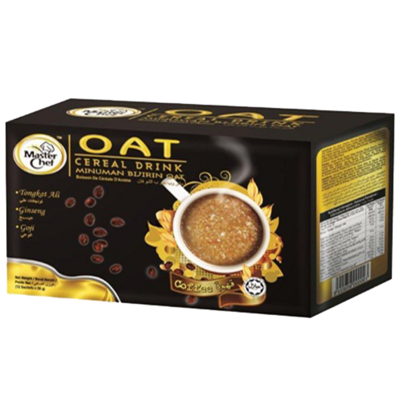 coffee oat cereal drink
