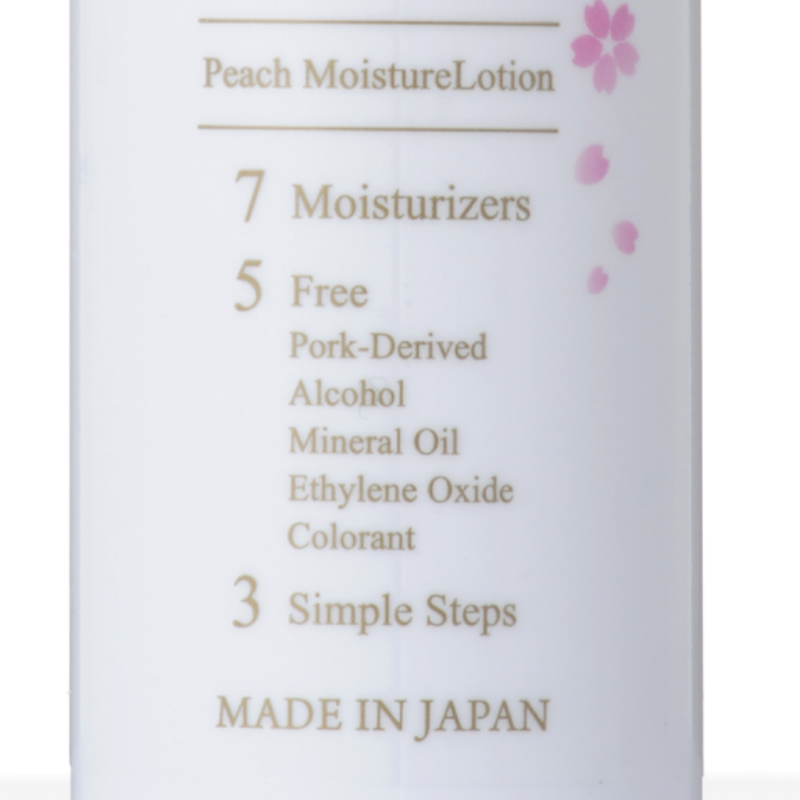 Peach Moisture Lotion